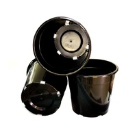 pot 250mm black