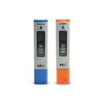 pH-80 and EC COM-80 package with ph up and down and calibration solutions