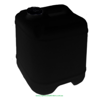 Empty Black 20L Drum and 58mm cap - call/email first to order - pickup only unless otherwise arranged