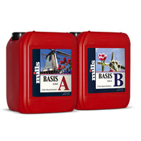 Mills 2 x 5L Basis Nutrient A & B 2 part