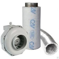 Can Filter Pack 150mm Can Fan and Carbon Filter RK150 GT425 Kit