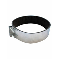 Padded Ducting Clamps 150mm Single