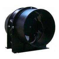 Cultiv8 150mm ducted inline Fan - quiet - suits 150mm ducting