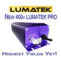 Lumatek lamp and cool tube 600w 400v pro lighting kit