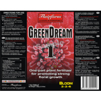 GreenDream 5L Bloom one part nutrient from flairform