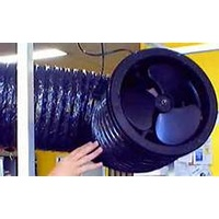 200mm Lenco Fan continuous rated ceiling type - E8PBB - can use with 250mm ducting