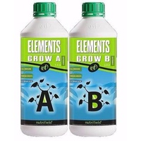 Elements 2 x 20L Grow Nutrients Nutrifield