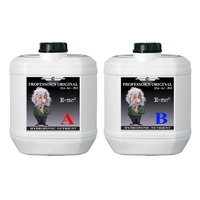 Professor's Nutrients Original 2 x 20L Nutrient 2 Part Professor's Nutrients Part A & B