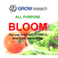 Single Bloom 20l Grow Research Single Part 20Ltr one part soil and hydroponics