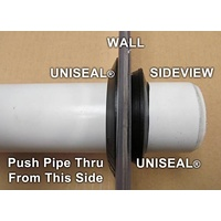 Uniseal 2inch 10107 for pushing pipe through tank walls