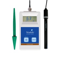 Bluelab pH meter (not pen) SOIL MODEL with probe bnc connection 5 year warranty 6 month probe warranty