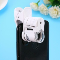 Mini 60x Microscope clip on for smart phone