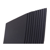 Corflute Fluteboard BLACK 2440x1220mm 5mm thick - STORE PICKUP ONLY