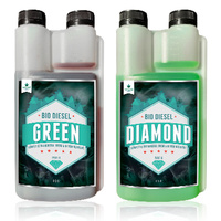 Green Diamond 2 x 20L Complete Bio Mineral Grow & Bloom 2 part nutrient from Bio Diesel Sensi 40L set