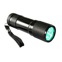 Green Led Torch - used to enter a grow room without waking plants up.