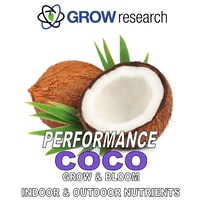 Coco 2 x 5L Grow Research Performance Coco Nutrients 2x5L =10L set