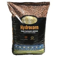 Hydrocorn Gold Label popcorn shape Clay 50litre bag RHP certified Standard size (p45) recommended LECA