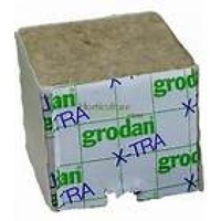 75mm no hole wrapped cube PER CUBE Grodan Rockwool DU4G