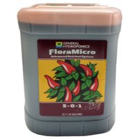 FloraMicro 22.7 3 part General Hydroponics Flora Micro GH