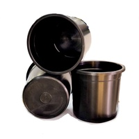 Pot 300mm Bucket black pot with NO holes