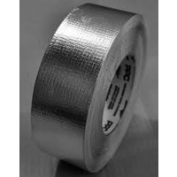 DELUXE Silver reinforced tape - 75mm wide x 50m roll