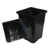 Tub 290tall - 290mm tall square 290x290x400mm pot - no holes like bucket