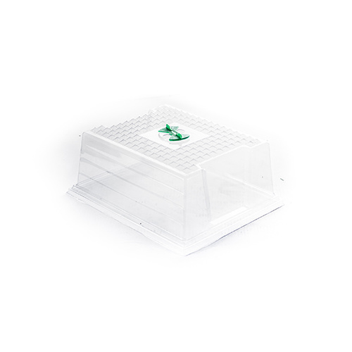 GT - Clear propagator lid single vent - lid only - 365x300x160(h)mm