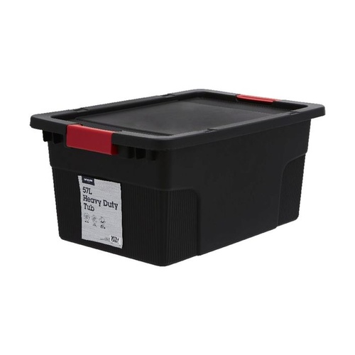 57L tank and lid - used as reservoir crate or to build an aeroponic system