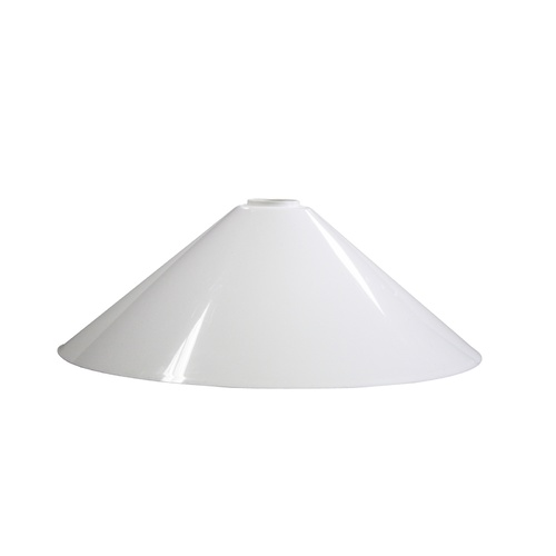 Small Lamp light shade Chinahat 60W White 26cm
