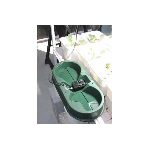 Autopot green tray and cover only - to suit two 250mm pots