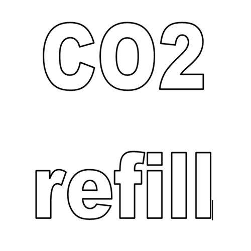 CO2 Cylinder refill -  with empty cylinder exchange - Carbon Dioxide - Agreement in place