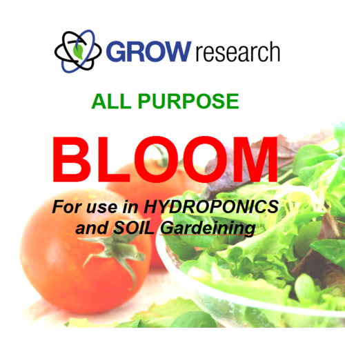 Single Bloom 1l Grow Research Single Part Bloom 1Ltr one part