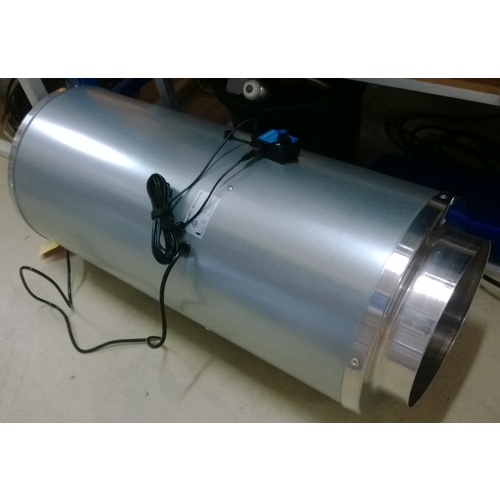 HyperFan Silenced 200mm - 1206m3hr - 335LPS