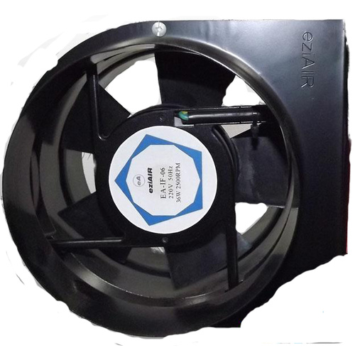150mm ball bearing in line axial fan - UTA150 118LPS(gr8+)