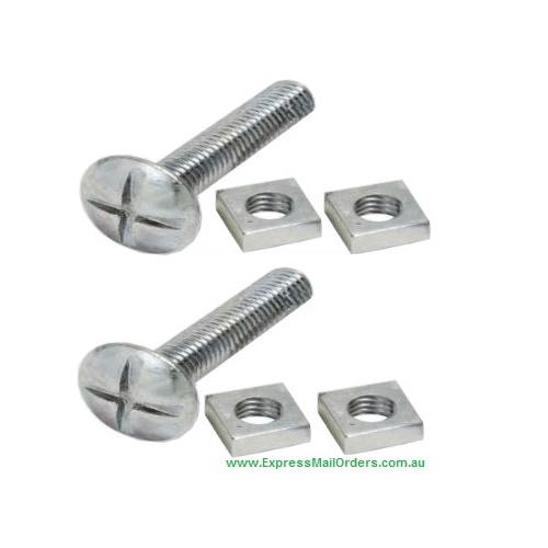 Jupiter 2 stoppers pair - replacement part - 1 pair of nut and bolt type end stops - for lost stoppers