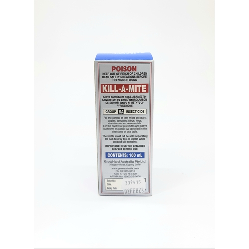 Kill-a-Mite 100ml concentrate - kills spider mites and their eggs