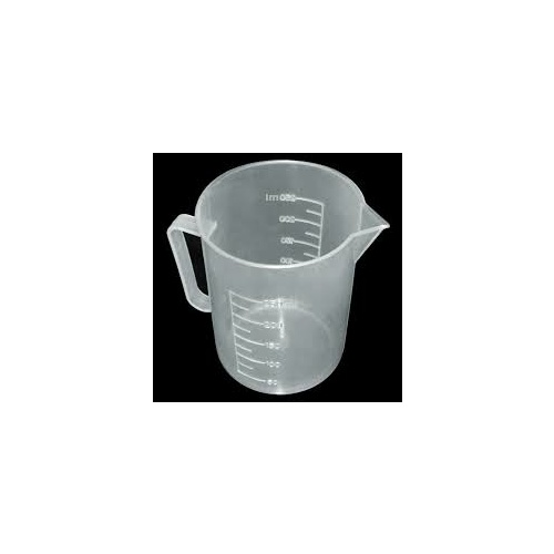 measuring jug 250ml graduated plastic clear
