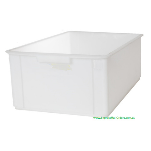 NEFARIOUS 45 litre white gridded crate crop box
